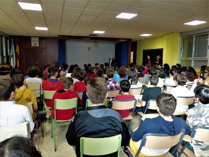 Alumnos/as de 5º y 6º de Primaria CEIP Campolongo
