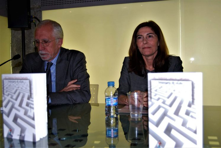 Con Luis Mateo Díez