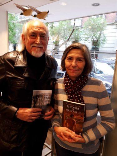 Con el poeta José María Triper