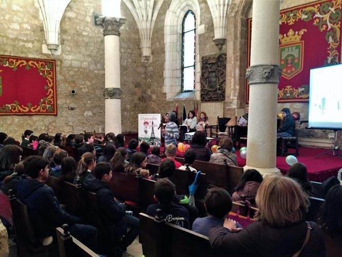 Alumnado de colegios de Burgos
